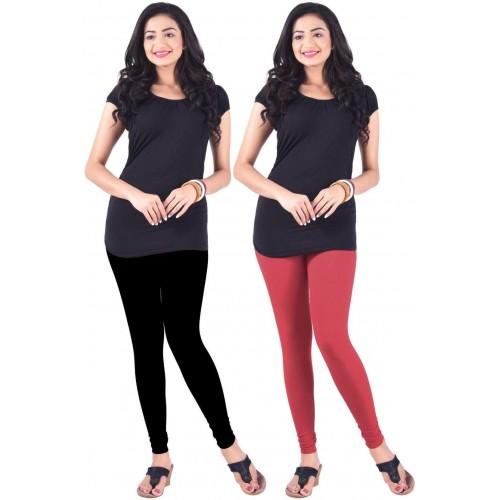 Lux Lyra Women's Black, Pink Leggings