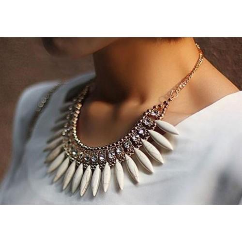 Cinderella Fashion Jewelry Stylish Statement Alloy Necklace