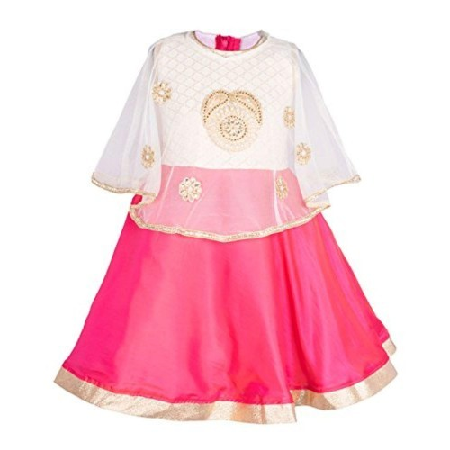 ee0a846cf Buy My Lil Princess Baby Girls Birthday Party wear Frock Dress Pink ...