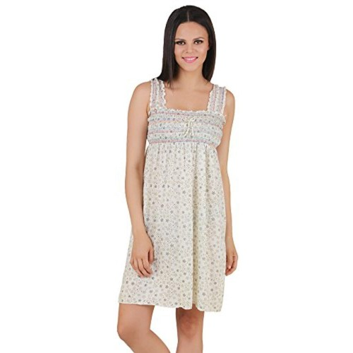 ... Fasense Exclusive Women Shinker Cotton Nightwear Sleepwear Short Nighty  DP131 ... d636f6535