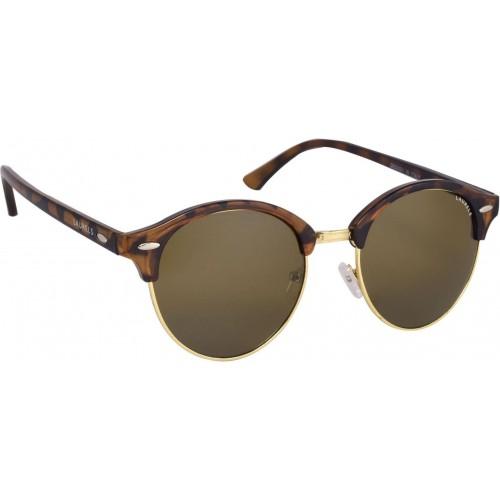 Laurels Oval Sunglasses