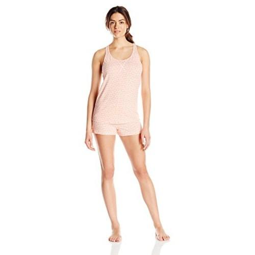03f13ef2bc627 ... Pajama Set  Calvin Klein Women s Tank Top and Boxer Short Pajama ...