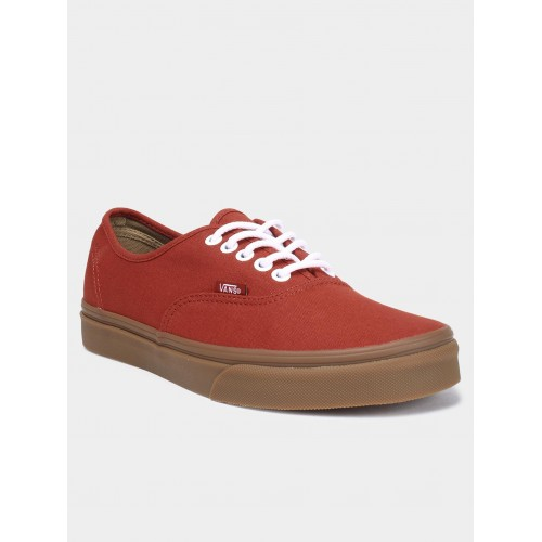 7285c7201c Buy Vans Red Canvas Lace Up Casual Shoes online