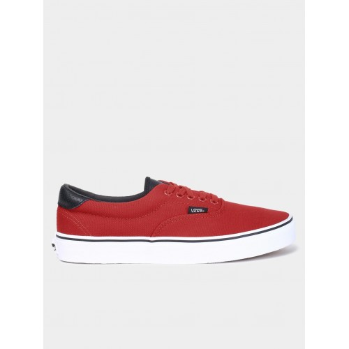 44e89642e0 Buy Vans Red Red Canvas Lace Up Casual Shoes online