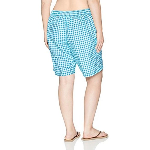 93385442ae Kanu Surf Women's Plus Size Lilly Upf 50+ Active Check Swim Boardshort ...