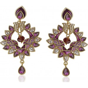Divastri Festive Design Alloy Drop Earring