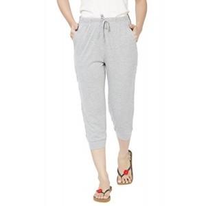 Clifton Women's Comfort Capri - Grey Melange - X-Large
