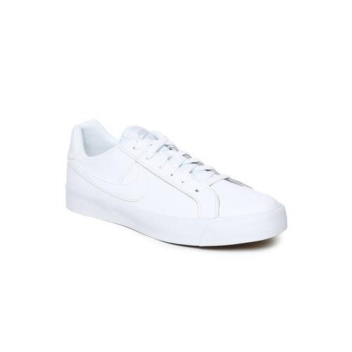 Nike Men White Court Royale AC Sneakers