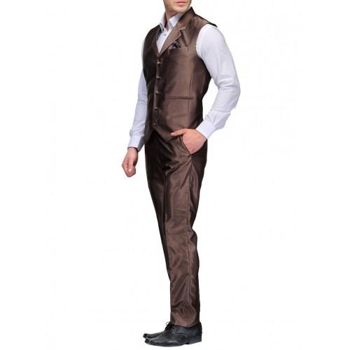 Platinum Studio copper cotton suit