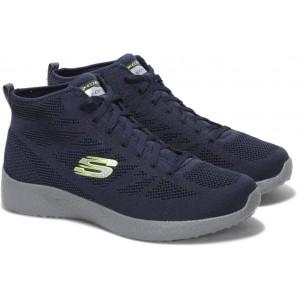 Skechers Navy Blue Burst Running Shoe