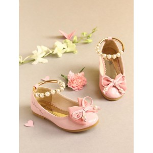 Walktrendy by Walkinlifestyle Pink Solid Ballerinas
