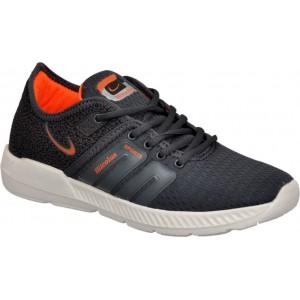 Hitcolus Grey & Orange Running Sports Shoes Running Shoes, Walking Shoes, Cricket Shoes
