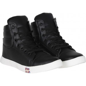 Knight Ace Tick Sneakers For Men(Black)