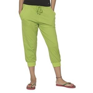 Clifton Women's Comfort Capri - Parrot Green - XXXX-Large
