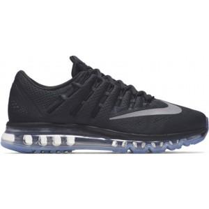 Nike Black AIR MAX 2016 Running Shoes