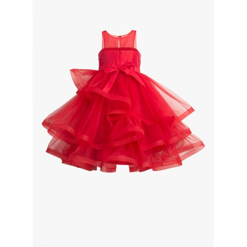 Toy Balloon Kids Red Party Dress