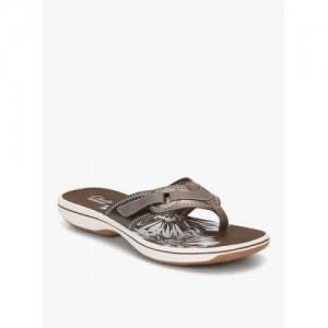 Clarks Brinkley Mila Grey Sandals