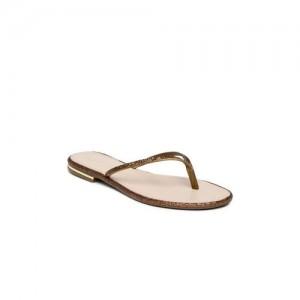 Catwalk Bronze Glitter Sandals