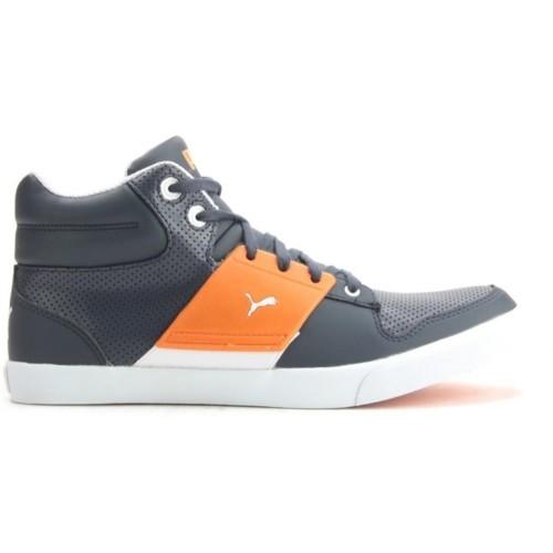 38cfcab0d40b5e Buy Puma El Ace 2 Mid PN II DP Gray Lace Up Sneakers online ...