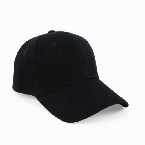a47187a35cb Buy FashMade Black Cotton Solid Unisex Cap online