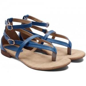 Meriggiare Women Blue Flats