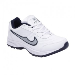 smart jaisco white running shoes