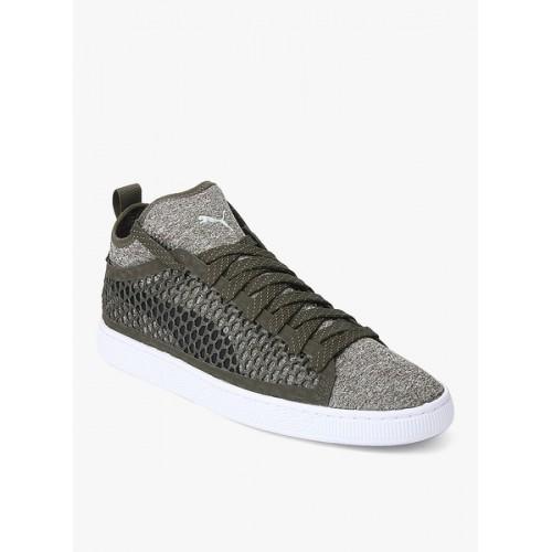 online retailer 8fc8d 7118d Buy Puma Men's Basket Classic Netfit Sneakers online ...
