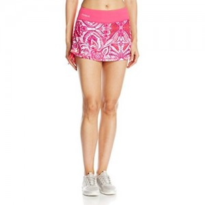 Desigual Women's Sport Skirt with Compression Short Paisley