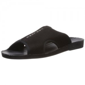 Coolers (from Liberty) Black PVC Casual Chappals