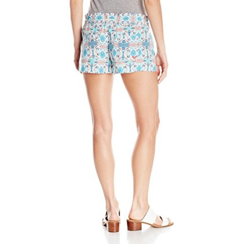 0dc0d9d15c Buy Roxy Women's Oceanside Printed Beach Shorts Elastic Waist online ...