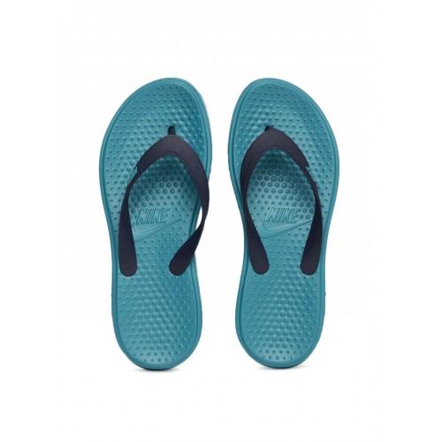 6e1b11dbc Buy Nike Men Blue Solay Thong Flip-Flops online