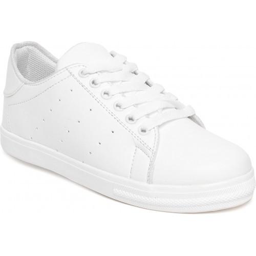 Vendoz White Casuals Sneakers