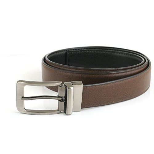 Saugat Traders Mens Belt (St0000819 _Black, Brown _Free Size)