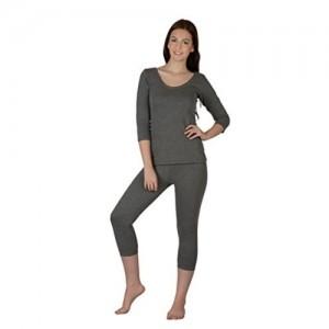 Selfcare Cotton Blend Thermal Top and Pyjama Set