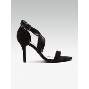 DOROTHY PERKINS Women Black Solid Heels