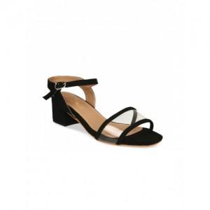 20Dresses Women Black Solid Block Heels