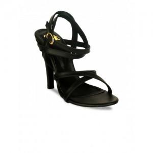 20Dresses Women Black Solid Stilettos