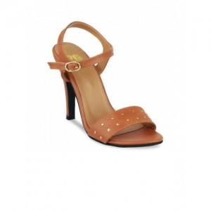 20Dresses Women Brown Solid Stilettos