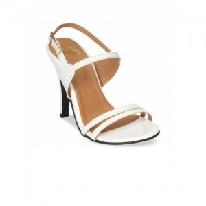 20Dresses Women White Solid Stilettos