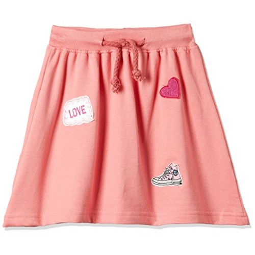 Cherokee Girls  Regular Fit Cotton  Skirt