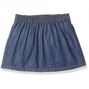 Gini & Jony Girls' Skirt (121246515940 6000_STONE WASH(6000)_2)