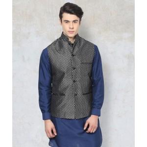 Yepme Adam Nehru Jacket - Silver