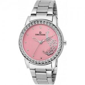 Decode Ladies Gem LR-2120 Chain Pink Watch  - For Women