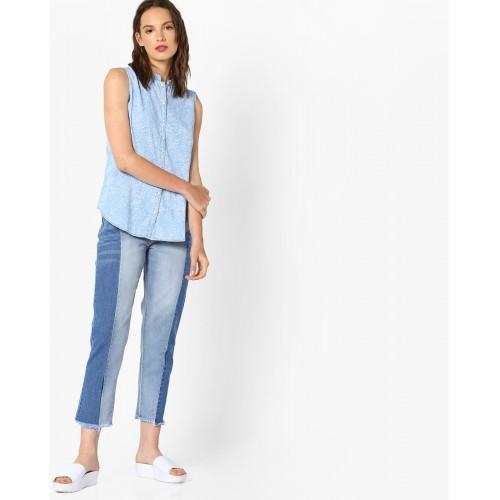 KRAUS Printed Sleeveless Shirt