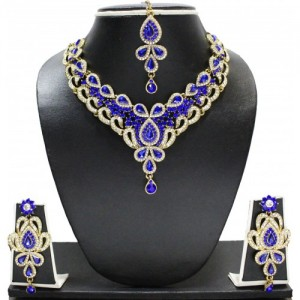 Zaveri Pearls Alloy Jewel Set