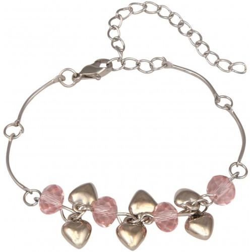 Sansar India Alloy Charm Bracelet