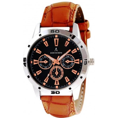 Adixion 9519SLB1 New Chronograph Pattern Genuine Leather Youth Wrist Watch Watch  - For Men