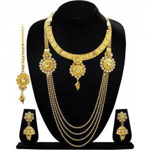 ARTS CHETAN Copper Jewel Set