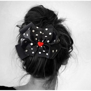 TiedRibbons® Hair bows for women   hair bow bands   hair bow ribbons   hair clips for women   hair clip and hair band (Black)