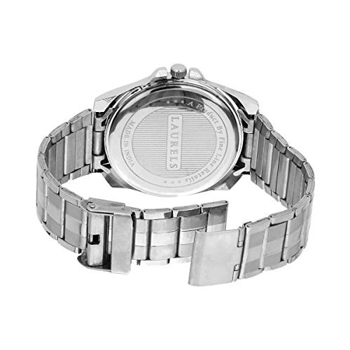 Laurels Polo Silver Dial Analog Wrist Watch - For Men